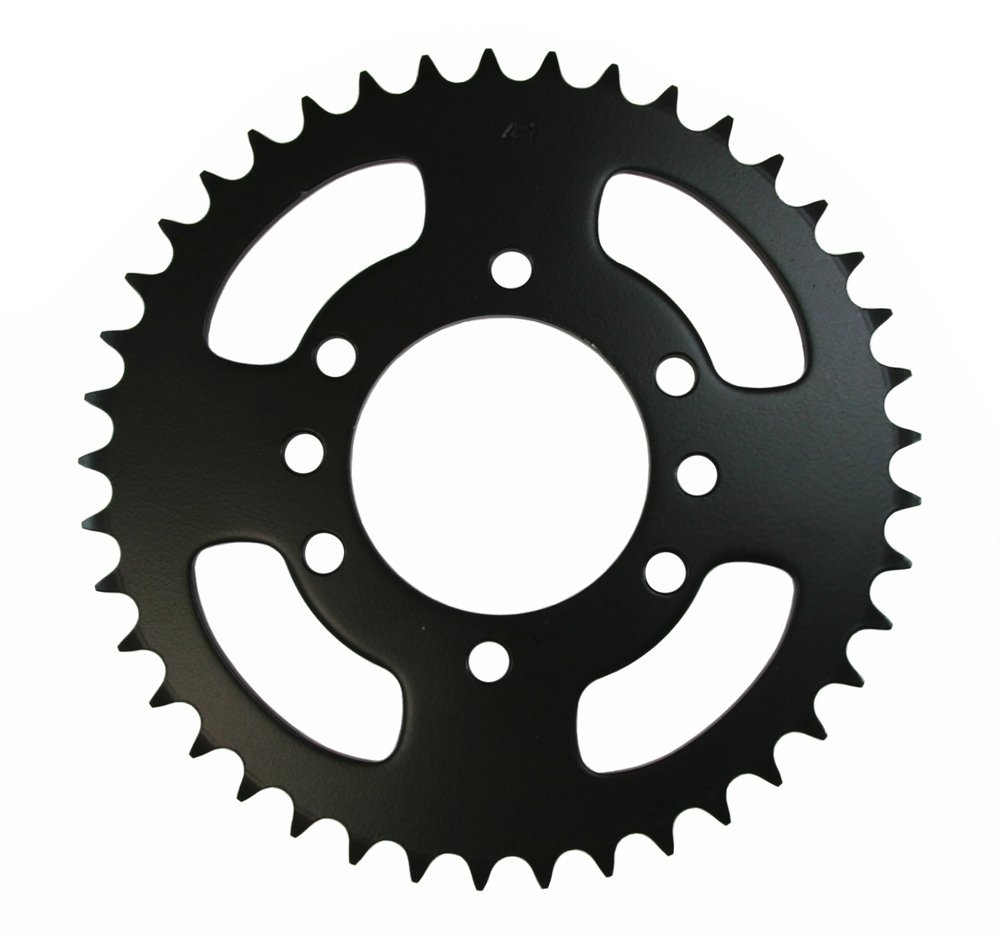 Get Quotations · 41 Tooth Rear Steel Sprocket 41T Suzuki Quadrunner 300  LT300E 1987 1988 1989