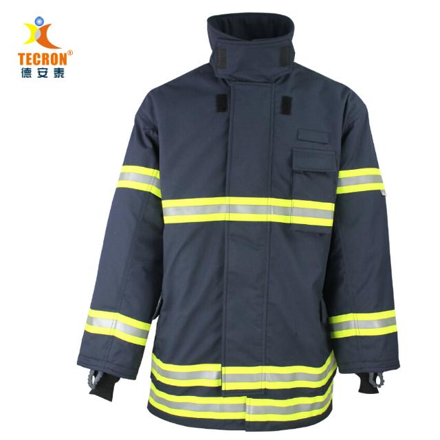 fire fighting suit EN 469 CE certified firefighter clothing