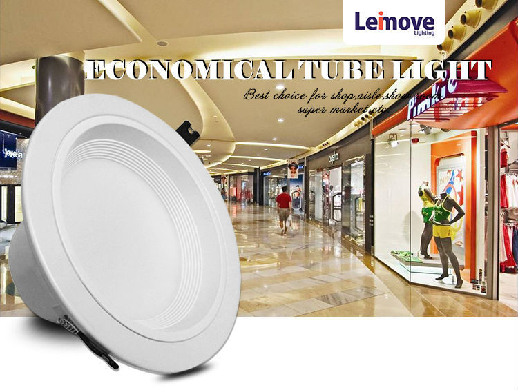 Leimove years warranty adjustable led downlights white milky for wholesale-2