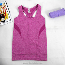 women gym tank top, young girls' sports fitness tees active tennis badminton trainer casual fit vests