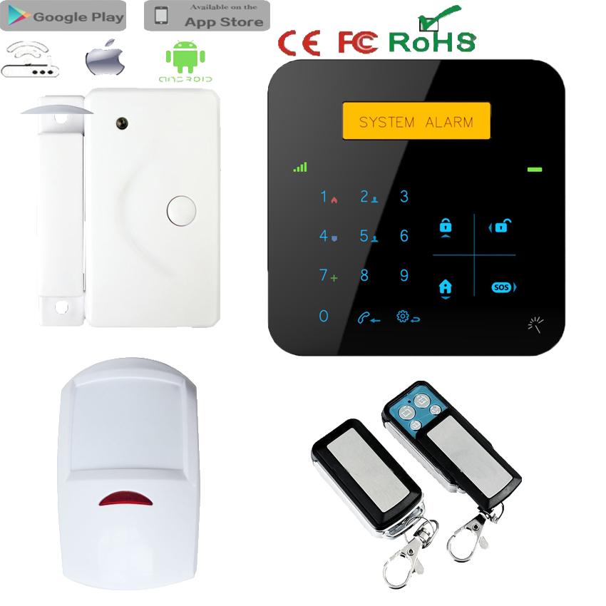 Gsm Module Home Security Wireless Smoke/fire Alarm,Sms Alert Alarm ...