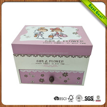 Wholesale customized one drawer luxury jewelry box