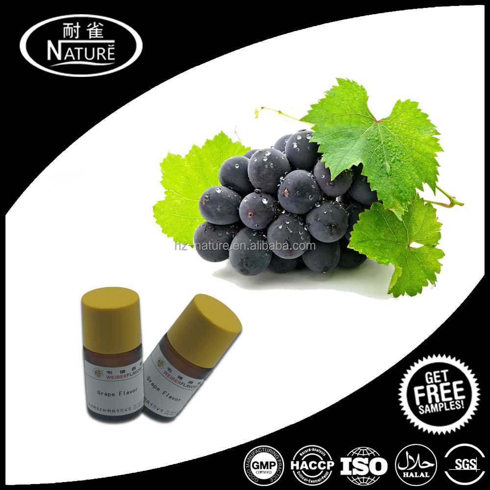 Ripe sweet grape flavor with smooth and balanced texture fruit flavor flavouring concentrate