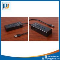 Free shipping 1Pc Slim Smallest Mini 4 Port USB 1.1 High Speed Transfer Rare USB HUB for Laptop for PC