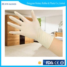 Hot selling ideal latex gloves with CE certificate