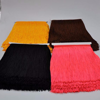 Wholesale 20CM High Quality Polyester Thread Fringe Tassel for Latin Dress