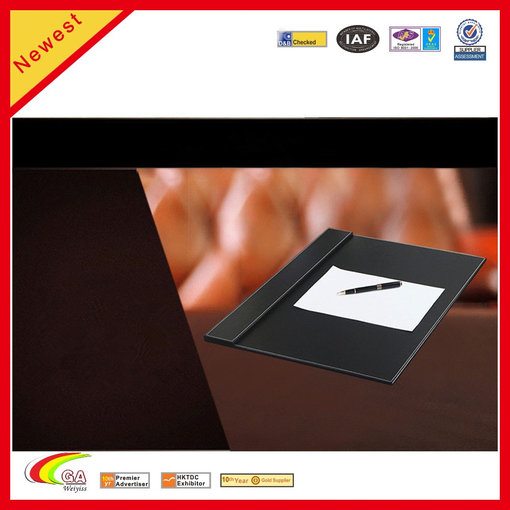 High Quality Desk Writing Pad PU Leather Book Tables Desk Set