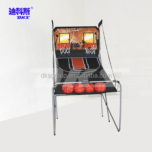 Indoor Games Double Basketball Shooting Machine On Sale