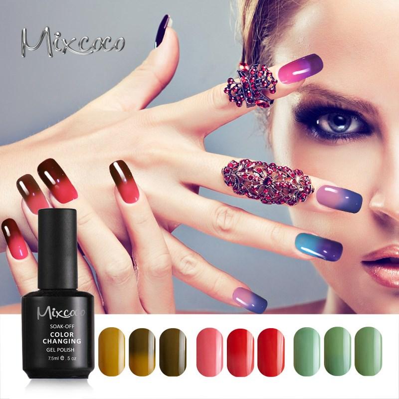 Mixcoco Uv Color Change Nail Polish Gel Free Sample