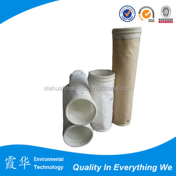 Aramid Fibers Needle 250 Micron Filter Bag For Dust Collector ...