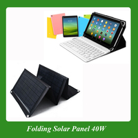 40W Small portable folding solar panel cell charger