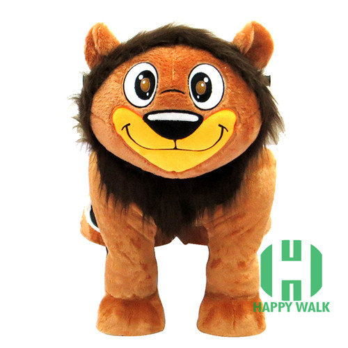 HI EN71 Promotional electric king lion riding toys for kids