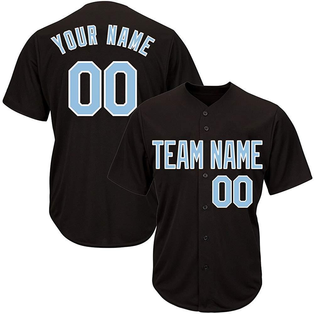71052783f7d Get Quotations · Custom Baseball Jerseys