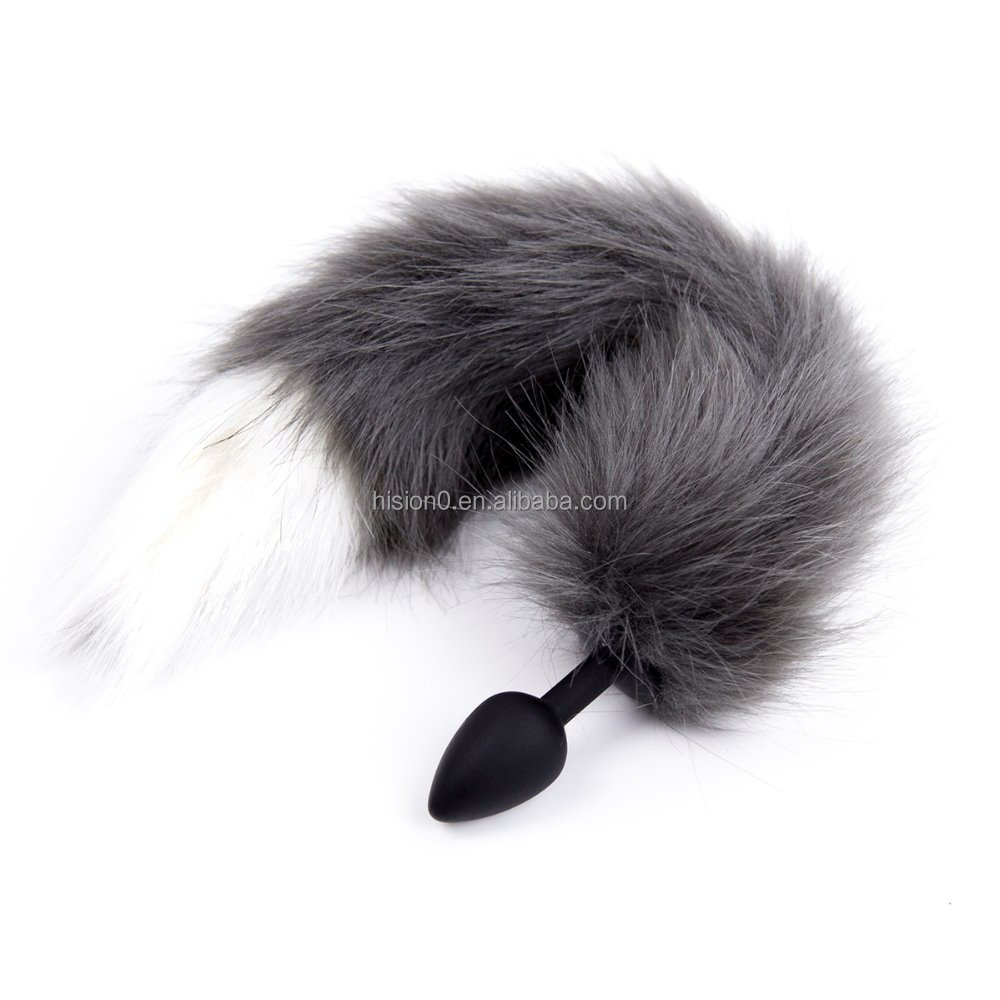 ass plug tail Grey Fox Tail, Grey Fox Tail Suppliers and Manufacturers at Alibaba.com