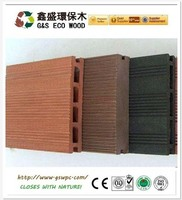 wpc eco decking /hollow decking for India project