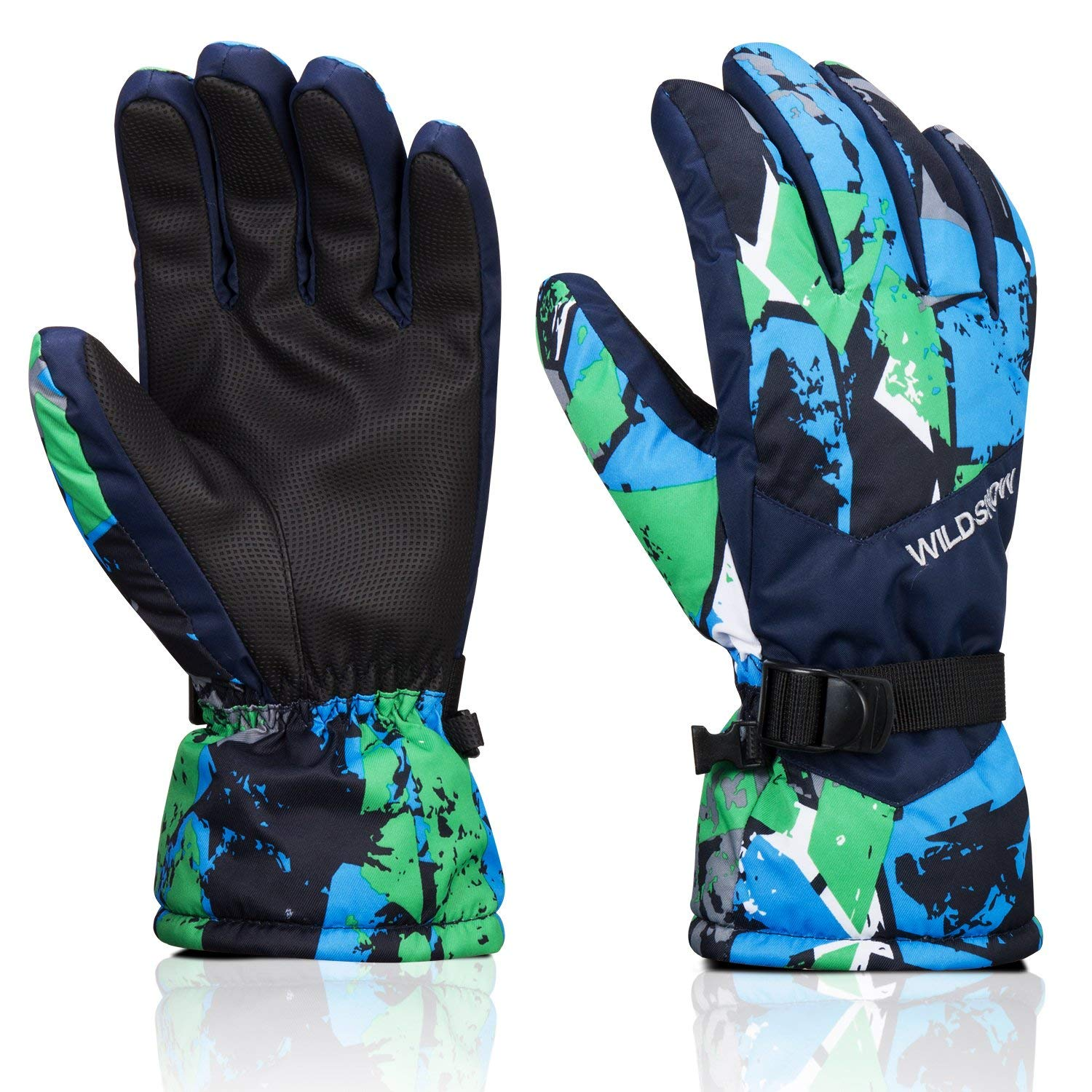 Ski Gloves, MoHo Winter Gloves Warm Breathable Waterproof Gloves Men's Women's Windproof Snow Gloves for Skiing, Snowboarding, Skating, Running, Cycling, Hiking, and Other Outdoor Activity
