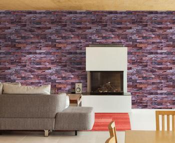 59194d5be8ea5 3D ladrillo diseño impermeable auto-adhesivo de vinilo papel de pared para  la decoración del