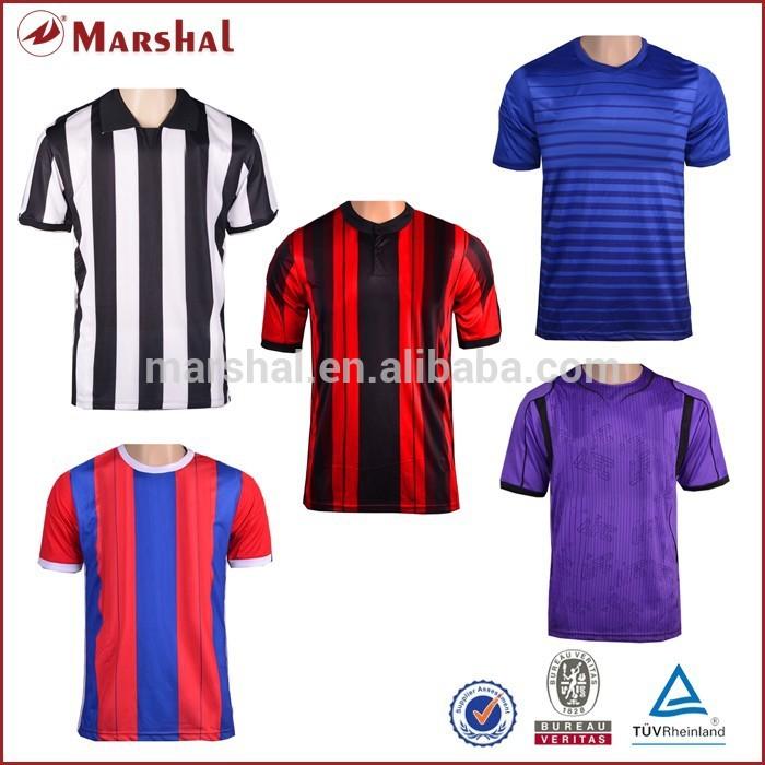 3d3f819d22 14-15 qualidade superior em estoque atacado futebol uniforme de time de  futebol camisola barata