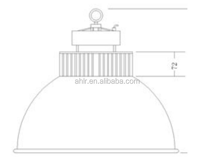 replacing 400w metal halide high bay light project 100w