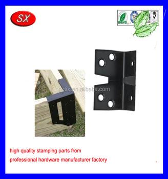 Custom Raised Garden Bed Corner Brackets Steel Bracket For Wood