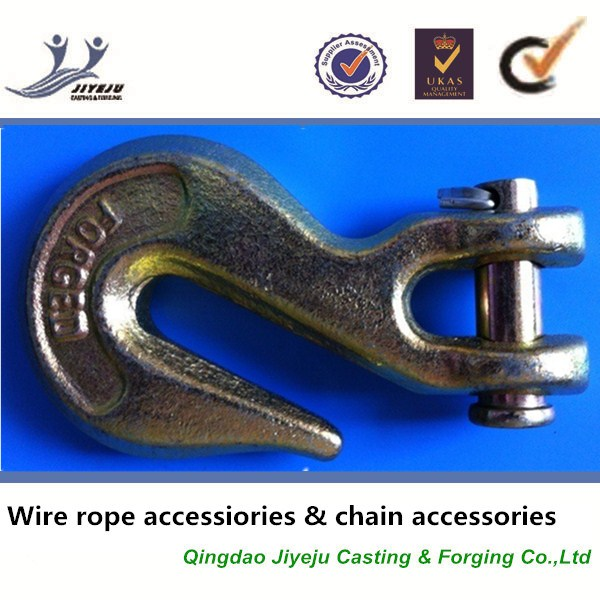 JYJ A339 Alloy Steel Grade 70 fitting for Transport Chain Clevis Grab hooks