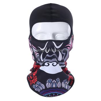 Funny Print Winter Ski Mask with funny Print Motorcycle Balaclava Custom  Design 03227c1c5743