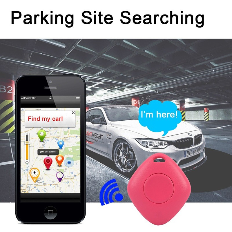 Intelligent Bluetooth Key Finder GPS Locator Tracker Multifunction Key Ring Two-Way Anti-Lost Tracker