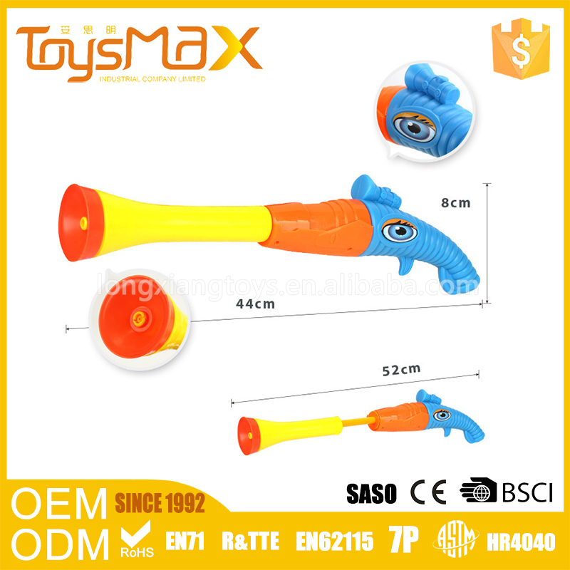 High quality green blue orange 60CM long summer water guns for kids with certificates