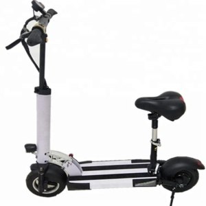 PETRIGO Excellent Safety Adults Mini Lithium Electric Scooter with Comfortable Saddle 2 Wheels Folding Kick Scooters