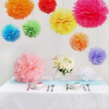 neutrals 5 tissue paper pom poms wedding decoration.htm wedding and party decoration pom pom tissue paper pompom ball  pom pom tissue paper pompom