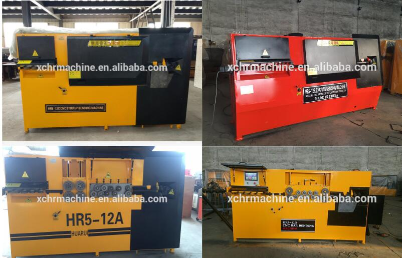 HR5-12 Automatic Rebar Stirrup Bending machine/CNC Wire Bending Machine Price