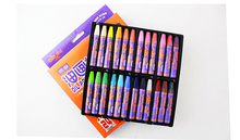 colorful wholesale 24 colors hexagonal shape Oil Pastels set for kids