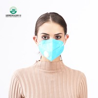 anti pm2.5/dust/particles butterfly shaped cotton masks/respirator
