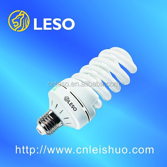 2017 energy saving lamp cfl bulb 40W T4 12mm Full spiral