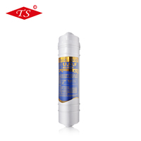 Hot sale T33 pre inline Granular Activated Carbon / UDF water filter for housing RO system water purifier