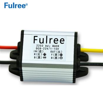 12v To 5v Dc-dc Buck Converter Voltage Regulator Module 8-22v To 1-15v 6v  3 7v 3 3v 3a Adjustable Diy Output Power Supply - Buy 12v To 5v