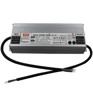 48V DC LED Driver 320W Meanwell HLG-320H-48B Power Supply 48 Volt
