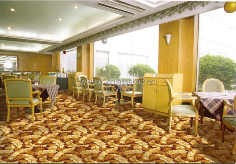 modern design floral pattern wall to wall carpet