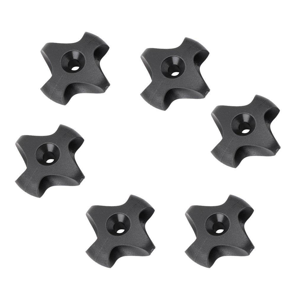 Jili Online 6 Pieces Min Nylon Deck Line Guide Outfitting for Marine Boat Canoe Kayak Accessories