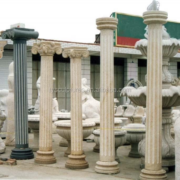 columnas romanas de diseo antiguo porche de piedra para la decoracin