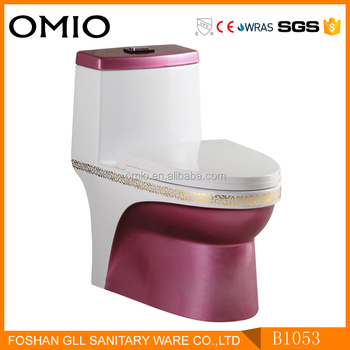S trap Ceramic Toilet Indian Style Luxury Toilet With Toilet Seat