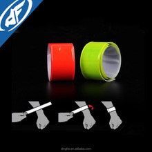 Reflective PVC Slap Bracelet Snap Wrist Bands for Safety Sports