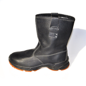Chinese shoes manufacturer Shandong producer anti-slip safety rigger boots miner boots industrial