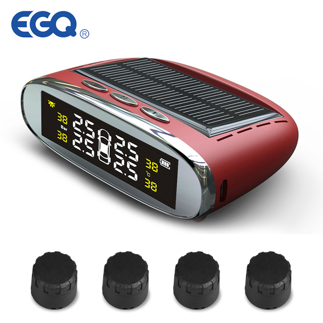 China best Solar Power Wireless TPMS with external sensors