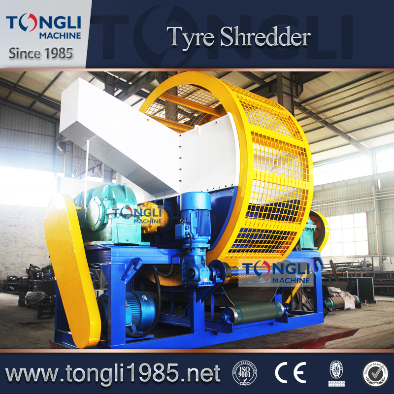 Tire Shredder/Waste Tire Recycling Machine