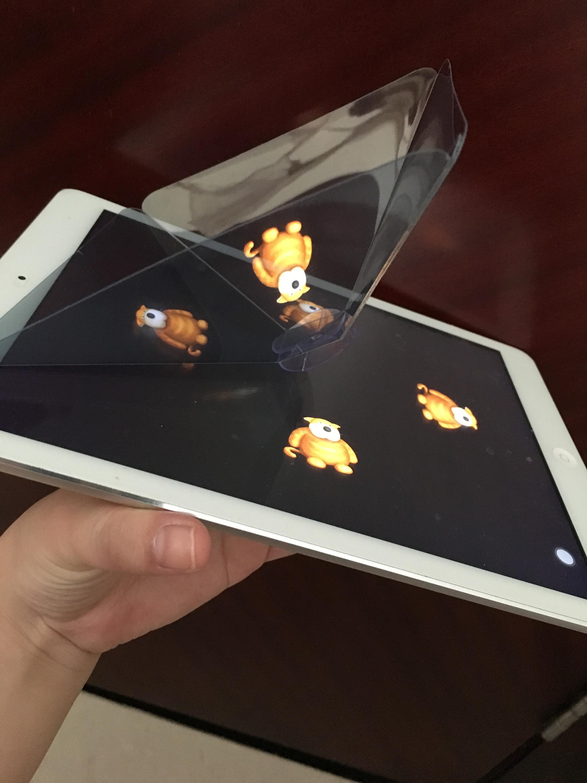 огромного картинки на смартфон для голограммы зеленом