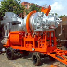 40t/h mobile asphalt mixing plant price for sale