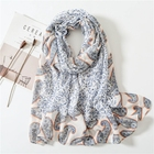 Latest Fashionable High Quality Soft and Smooth Viscose Paisley Printed Scarf Women Hijab