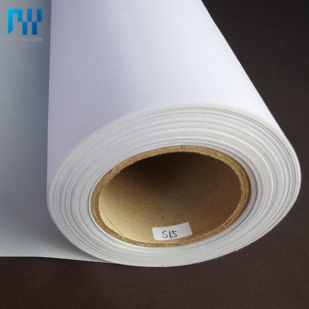 Glossy waterdichte Polyester eco Solvent Canvas