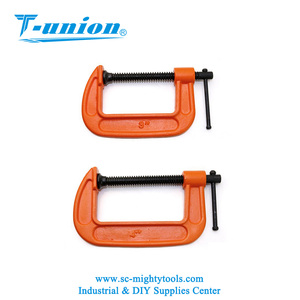 2' 3' 4' 6' 8' Heavy Duty C Clamps Good Quality Forged Steel G-Clamps
